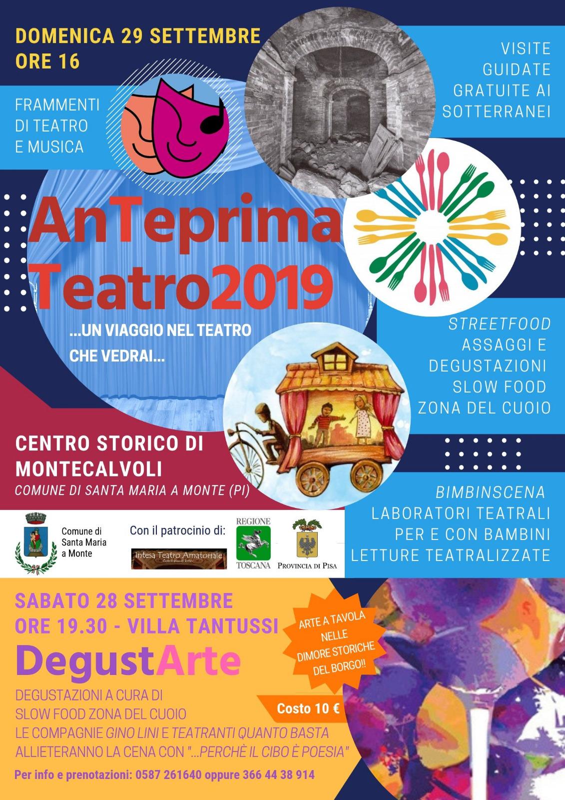 Anteprima Teatro 2019