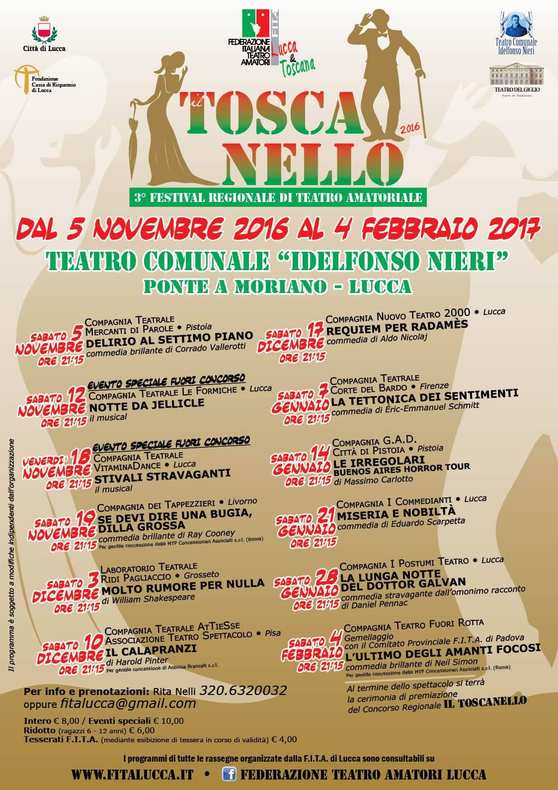 3° Festival Regionale Il Toscanello - locandina