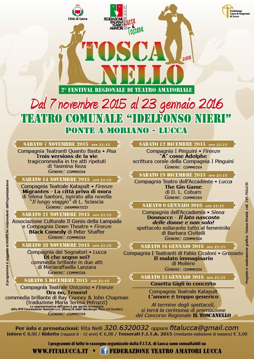 Il Toscanello 2015 - locandina
